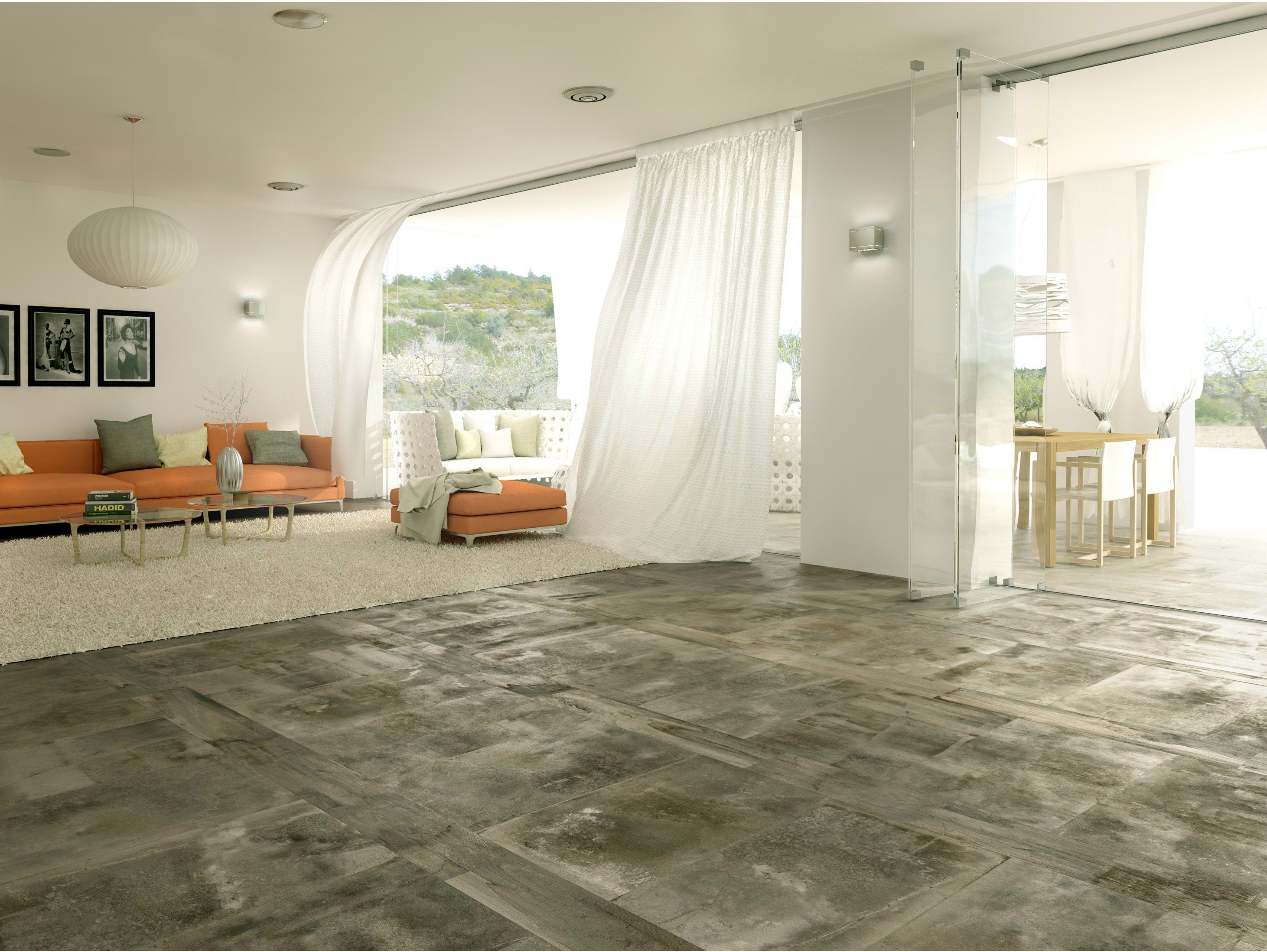 Porcelain Stoneware Floor Tiles With Wood Effect Mixing By Ferro