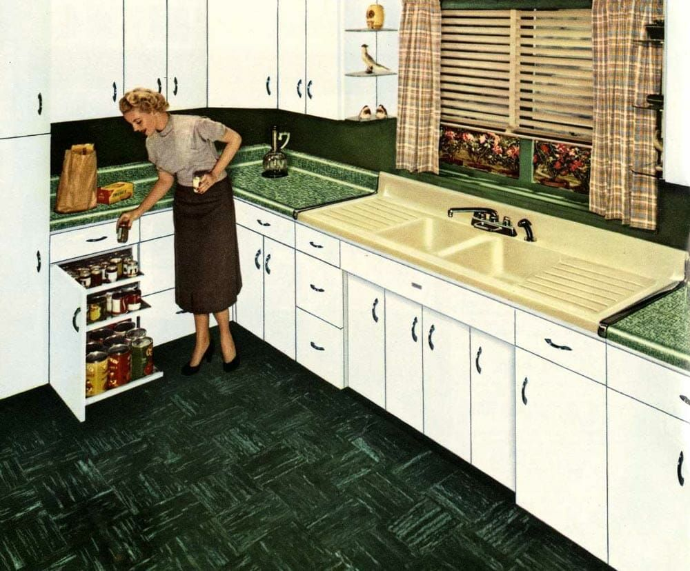 American Standard Steel Kitchen Cabinets 16 Page Catalog From 1953 Kitchen Cabinets Steel Kitchen Cabinets Kitchen Renovation Design