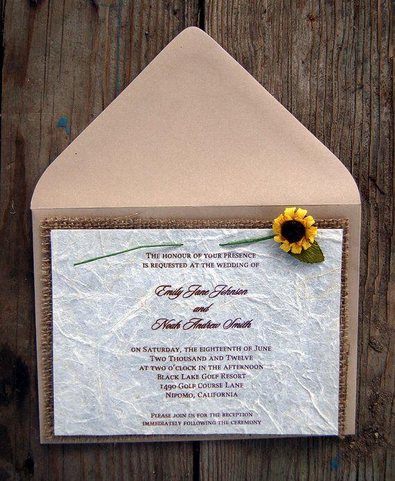 Do it yourself burlap sunflower rustic wedding invitation do it yourself burlap sunflower rustic wedding invitation solutioingenieria Image collections