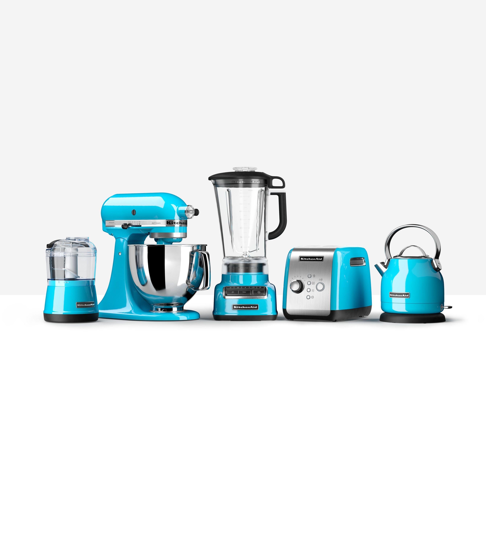 Les produits de la gamme KitchenAid tout en Bleu Lagon ! | Nathalie ...