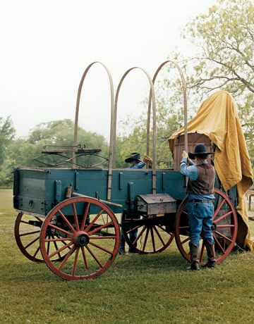 wagon used for hospital's western themed benefit dinner?