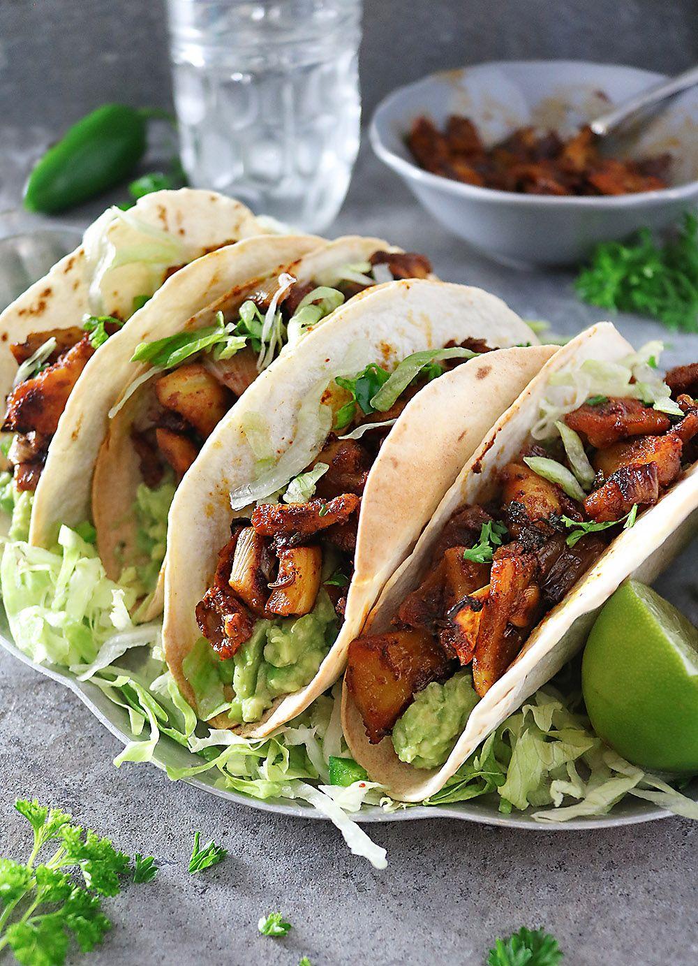Easy vegan jackfruit tacos recipe savory spin recipe