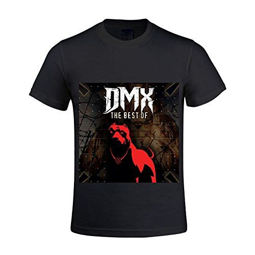 Dmx The Best Of Dmx Men T Shirts Crew Neck Printed Black -- You can get more details by clicking on the image.