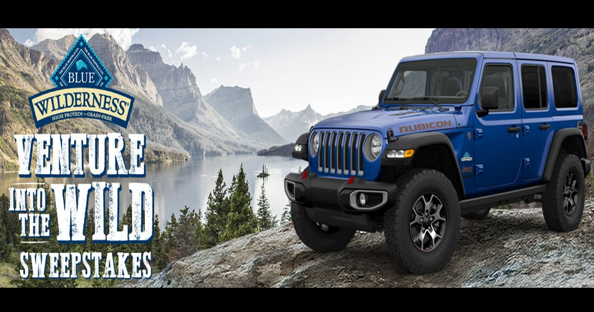 The Venture Into The Wild Sweepstakes Jeep Wrangler Rubicon Sweepstakes Wrangler Rubicon