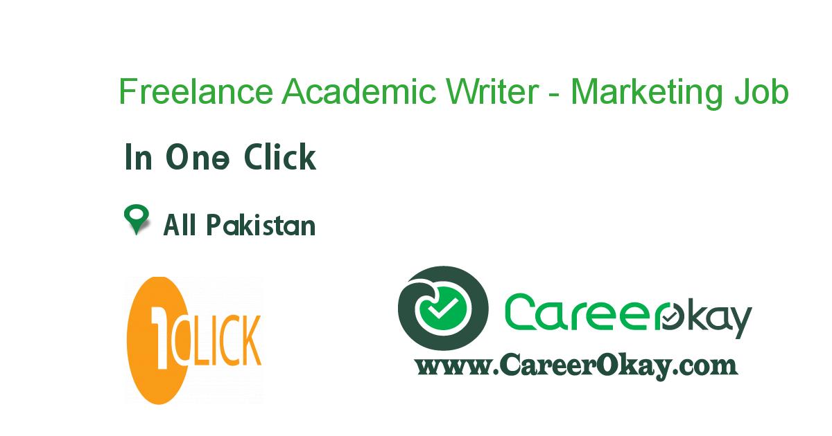 Freelance Academic Writer Marketing Https Www Careerokay Com Job Job Listings Freelance Academic Writer Marketing O Executive Jobs Medical Jobs Writer Jobs