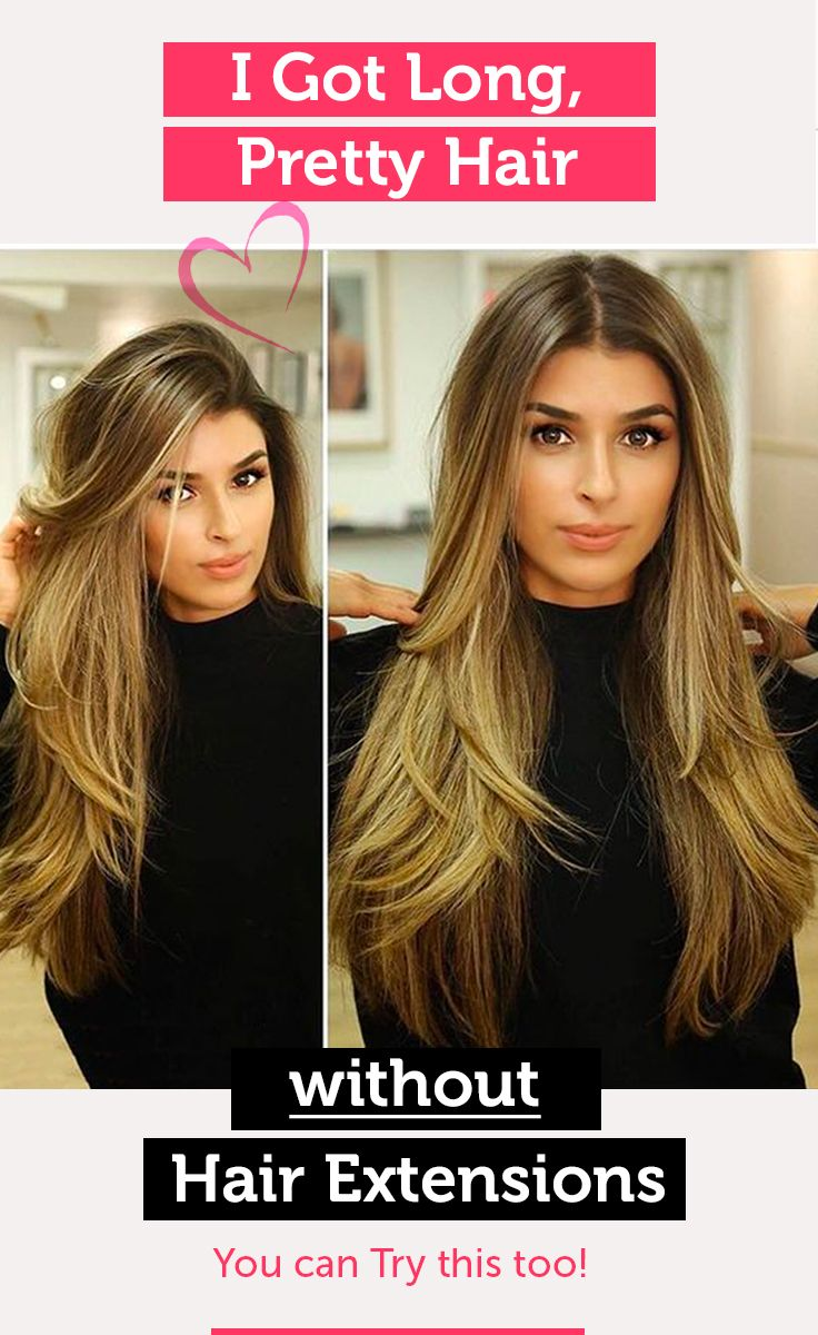 How to get long hair quickly beauty tips in pinterest