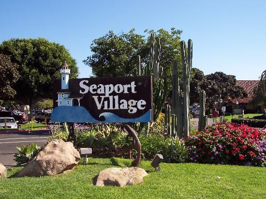 Seaport Village San Go Fun Place Lots Of Food S