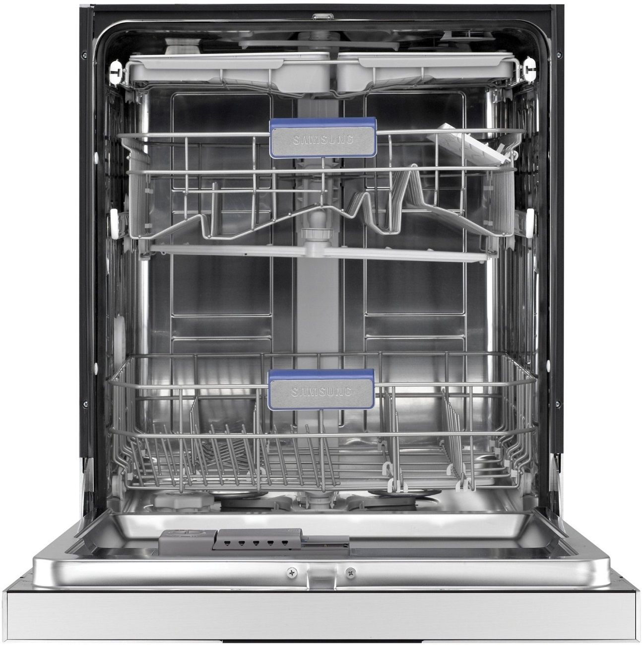Samsung Dishwasher A Samsung dishwasher displays the