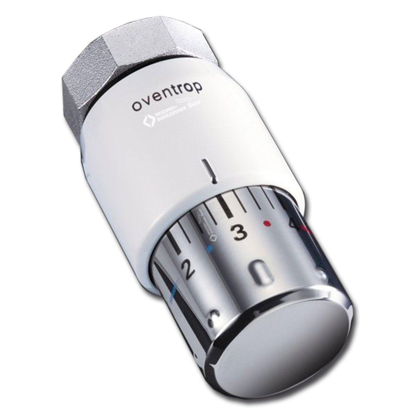 """Oventrop Thermostat """"Uni SH"""" 7-28 C, 0 x 1-5, Flüssig-Fühler, weiß, 1012065: Amazon.de: Baumarkt"""