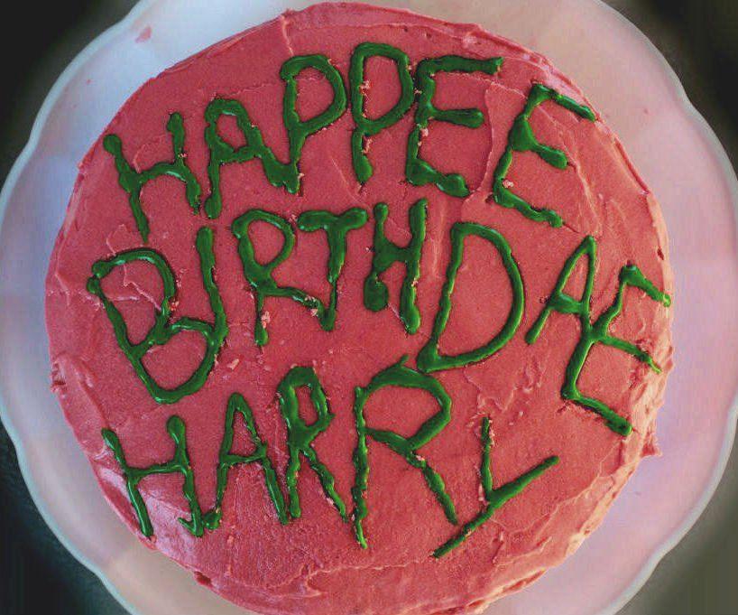 Harry Potters Geburtstagstorte WIE IM FILM GESEHEN   – J's Bday Party Ideas