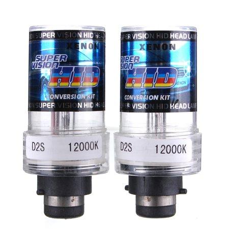 Grtsunsea 2X 35W Car HID Xenon Bulb Head Light D2S/D2C 4300K