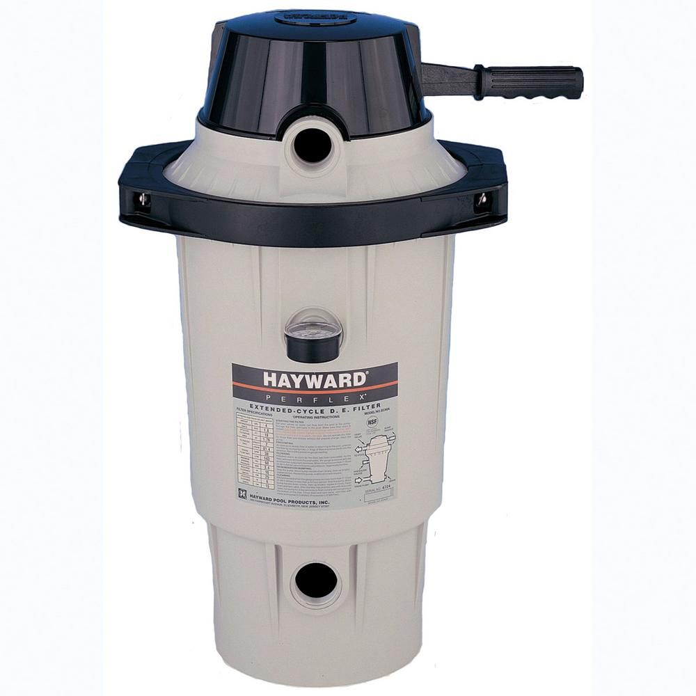 Hayward Perflex 20 sq. ft. DE Pool Filter with Clamp in 2019 ...