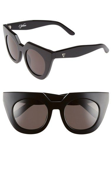 Free shipping and returns on VALLEY 'Spleen' 49mm Oversized Cat Eye Sunglasses at Nordstrom.com. A distinctive, architectural browline modernizes classic cat-eye sunglasses with gleaming logos at the temples.