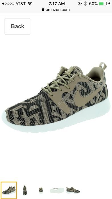 a9a860a4e79 My Nike ROSHE one in Desert Camo by Nike! Size 7.0 for   79.00 ...