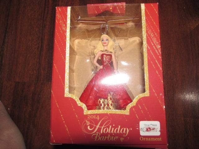 American Greeting Christmas Ornaments Part - 20: 2014 Heirloom Holiday Barbie Christmas Ornament New American Greetings