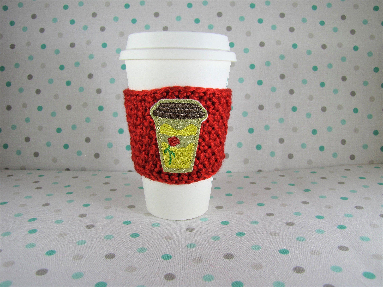 Princess Cup Cozy Crochet Cup Cozy Belle Feltie Princess Feltie