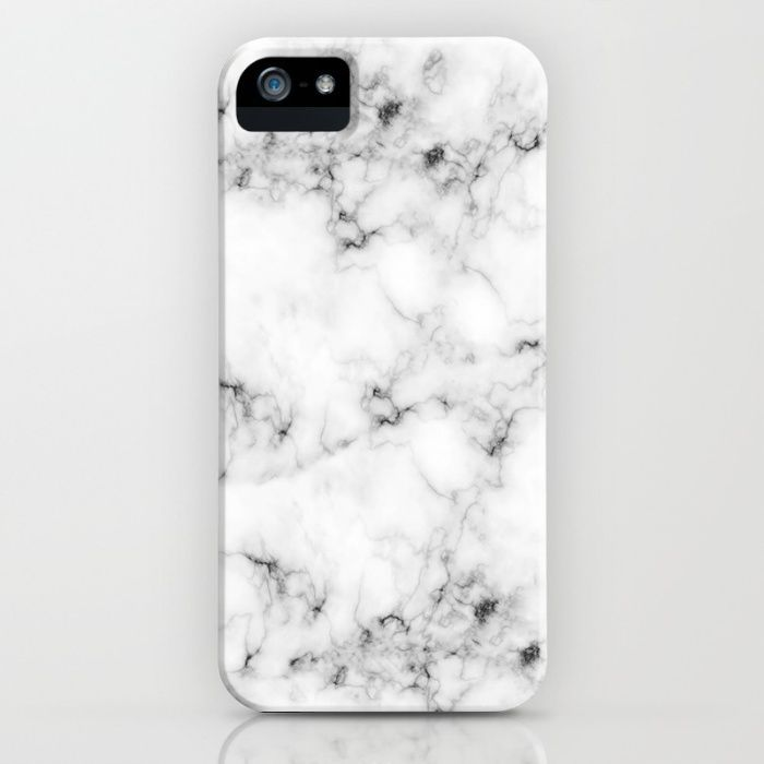 $5 Off + Free Shipping on Phone Cases Today!  The iPhone SE will ship on 3/31/16 -- Real Marble iPhone & iPod Case by Grace | Society6