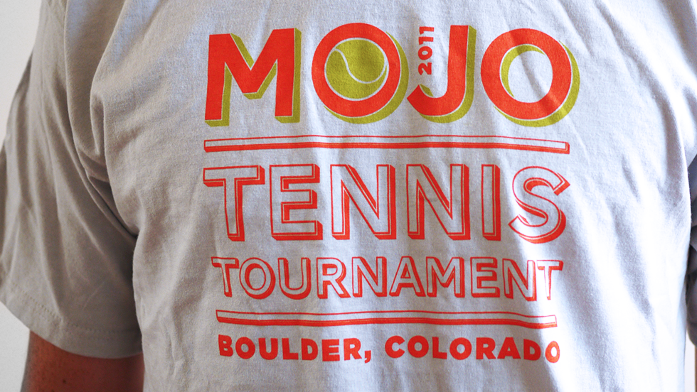 Mojo Tennis Tournament 2011 T Shirt Older Apparel 1 Shirts T Shirt Fashion