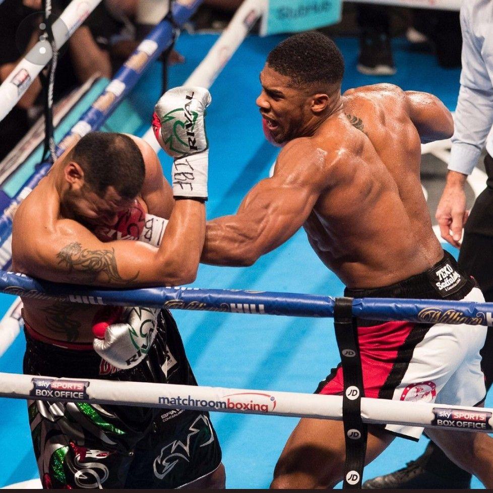 Punching With Images Boxing Anthony Joshua Boxing Workout