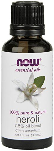 100% Pure  Natural 7.5% Oil Blend Citrus aurantium Ingredients: Pure neroli oil  pure grapeseed oil.Aroma: Deep floral aroma Benefits: Calming soothing centeringTry Good Night Sleep - a recipe with...