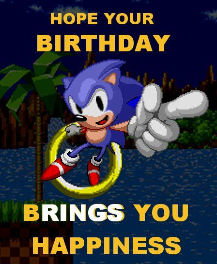 Happy Birthday by sonic75619 on DeviantArt