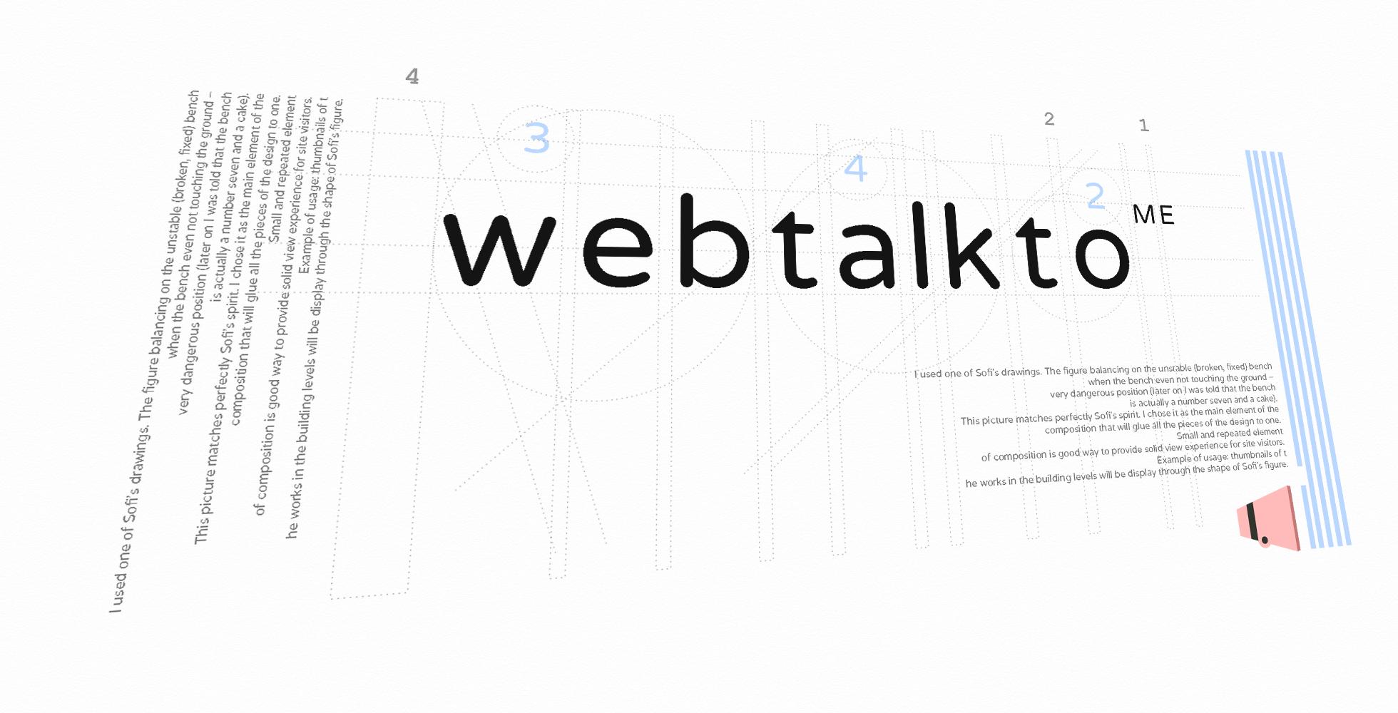 WebTalkTo Hundred Pictures Gallery logo