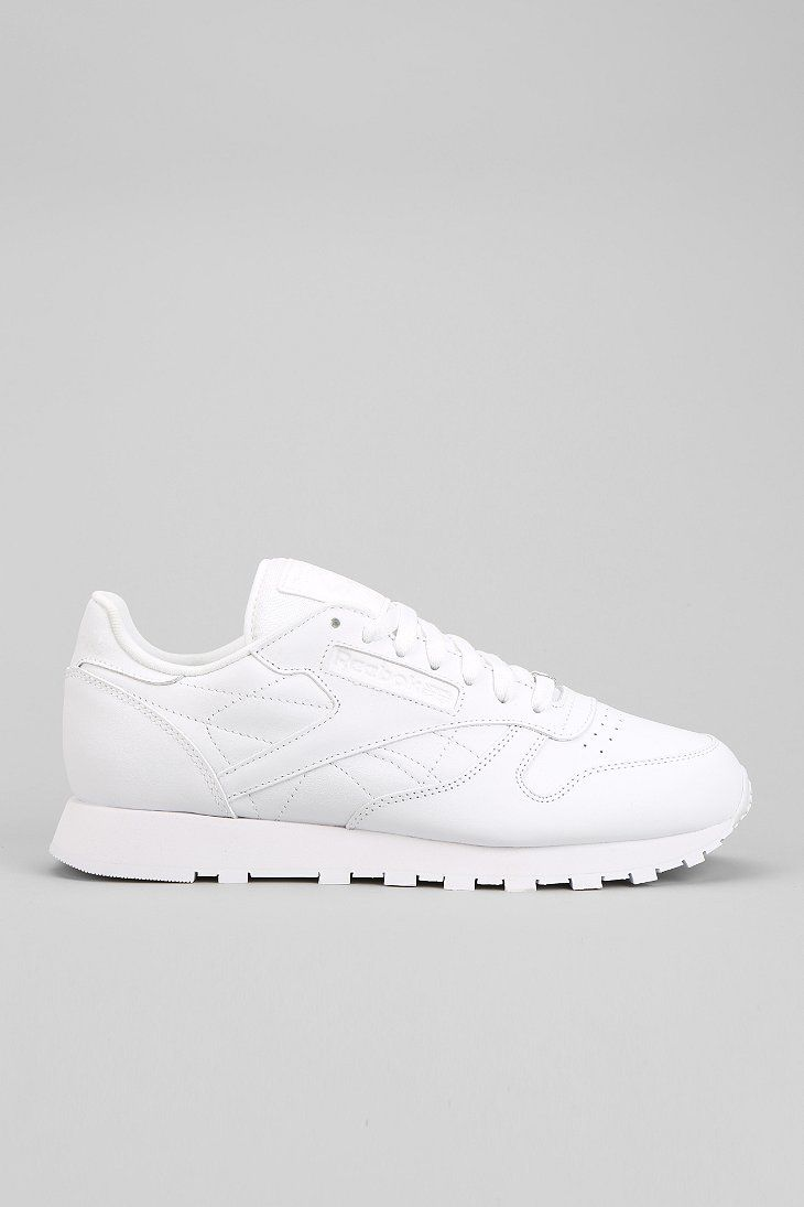 7e7908ae32907 Reebok Classic Leather Sneaker....these shoes are so ugly to me now but we  had to have a sparkling white pair in middle school!