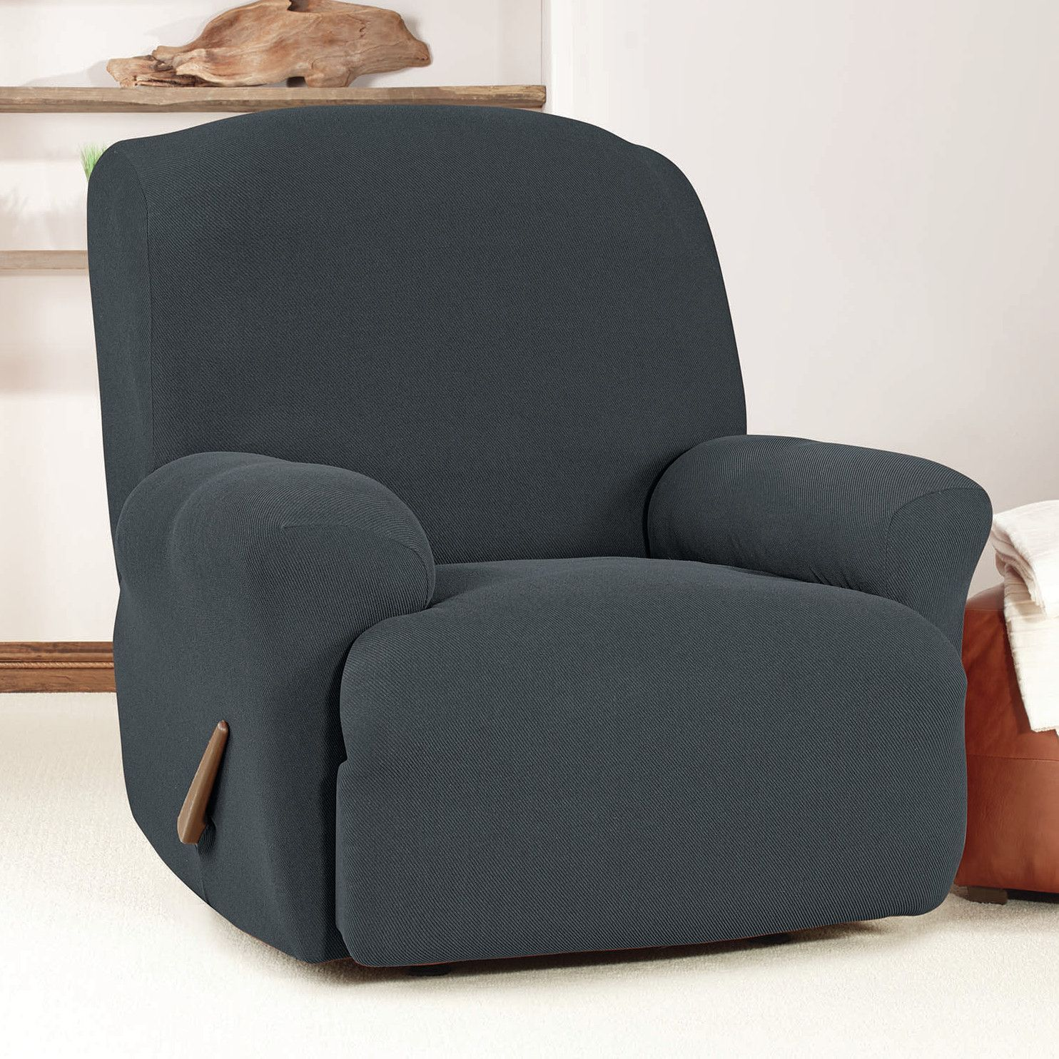 recliner product today overstock slipcovers garden recliners stretch free for slipcover shipping floral bccb sensations home