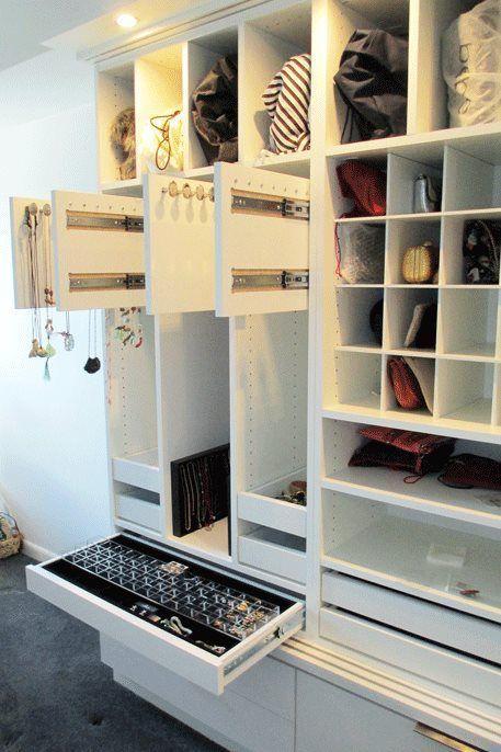 44+ ideas small master bedroom closet organization wardrobes for 2019