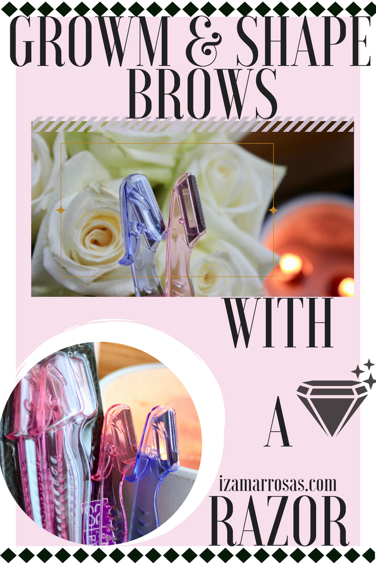 Let's talk shaping brows with a razor   Brow shaping ...