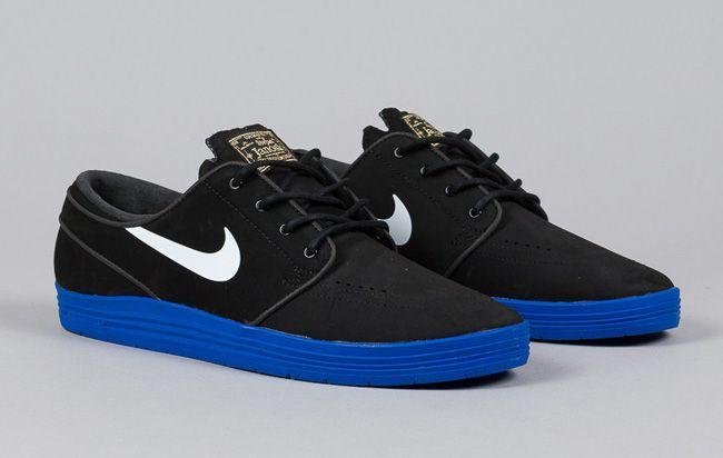 """free shipping d3612 a4e62 Nike SB Lunar Stefan Janoski """"Black  Game Royal"""""""