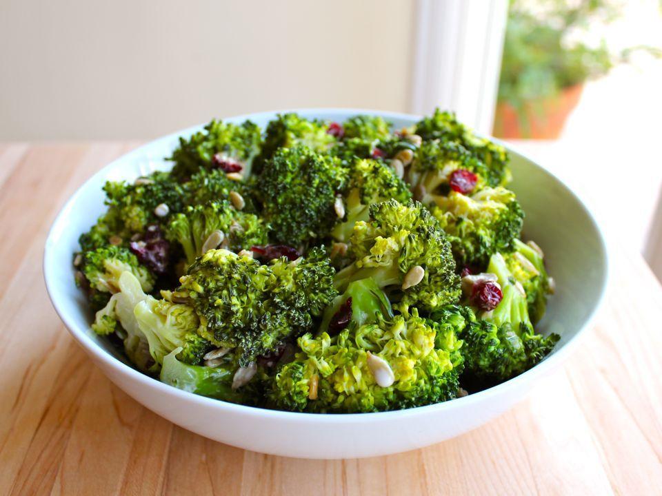 Crunchy Sweet Broccoli Craisin Salad