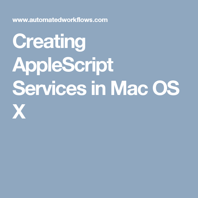 dedrm applescript for mac os x
