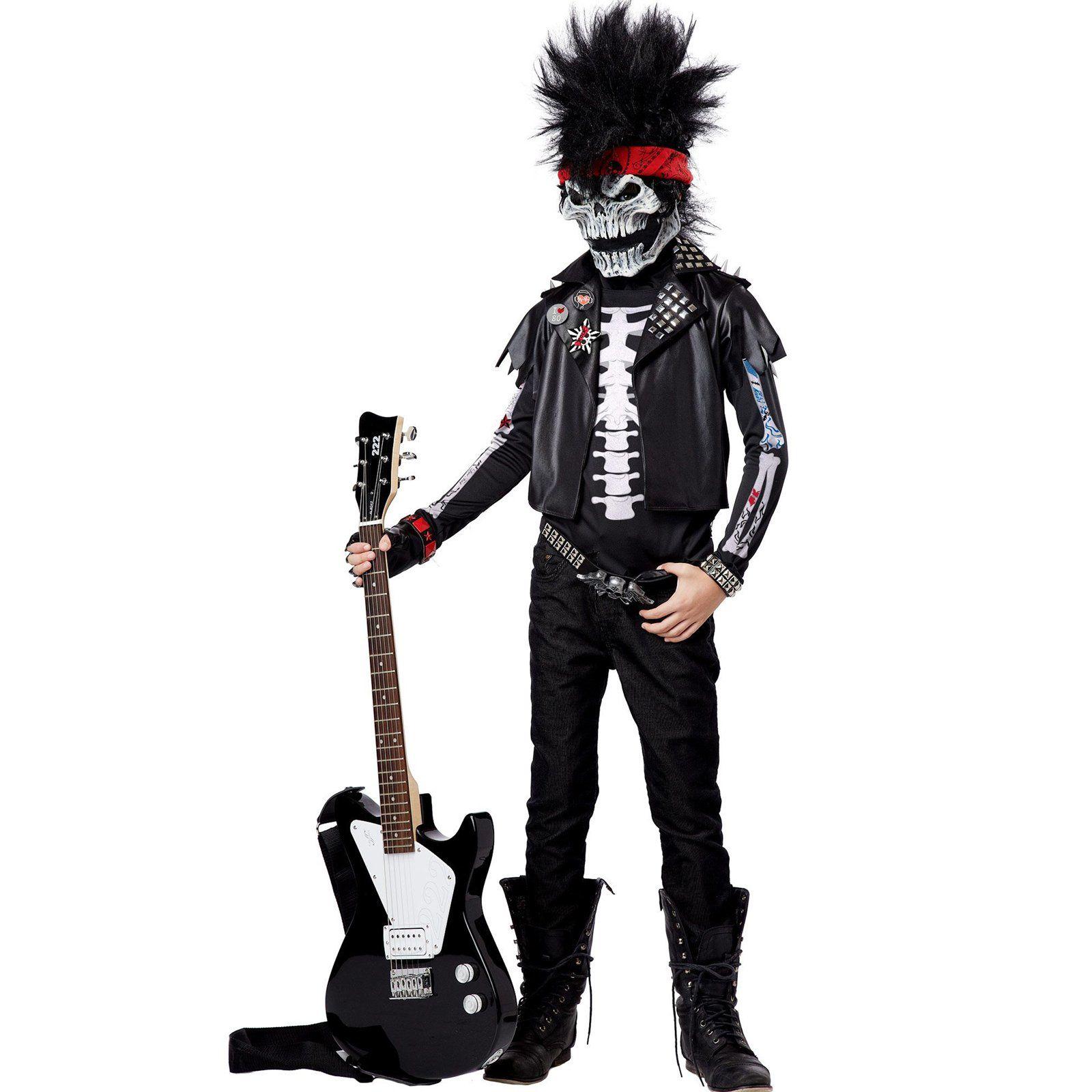 Dead Man Rockin Child Costume from Boy