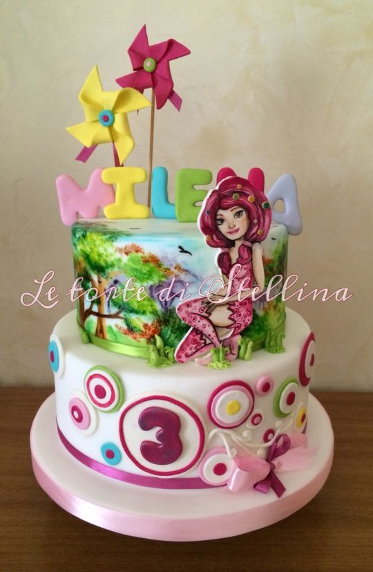 mia and me cake and details from www lecreattive com cake on where can i get birthday cakes near me