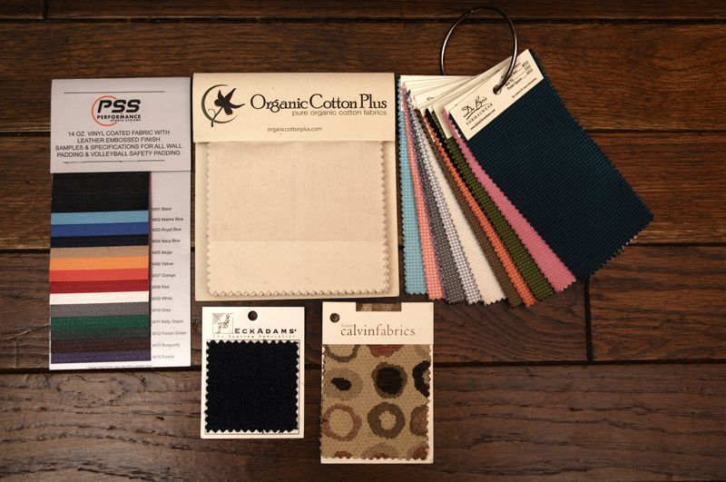 Fabric Sample Cards Books Swatch Headers Hangers  Memo Samples