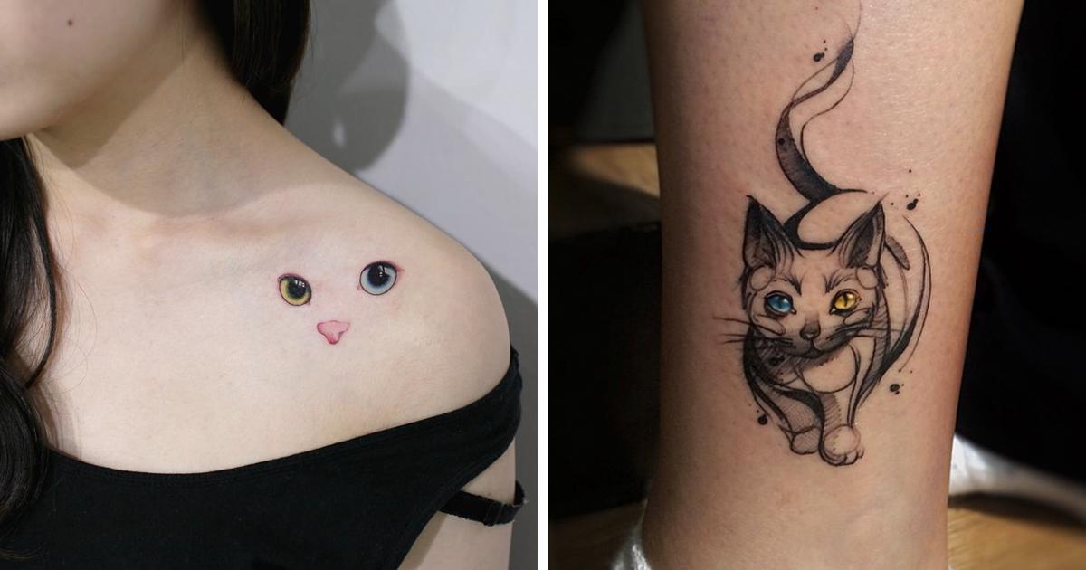 15 Ideas Geniales Para Tatuarse Un Gato Bored Panda Tatoo