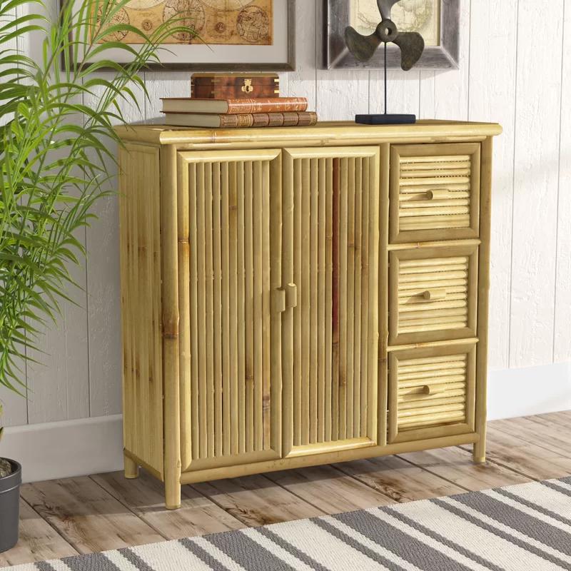 Whobrey Storage Shelf 2 Door Accent Cabinet Accent Doors