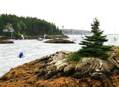 Christmas Cove Maine We Sat In The