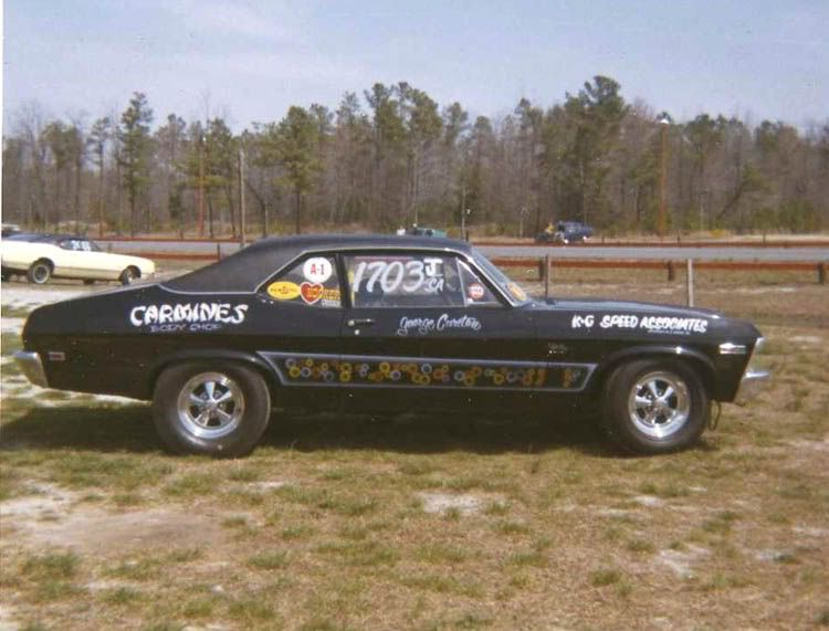 History Nhra Junior Stock Chevrolet Nova Cool Old Cars Chevy Nova