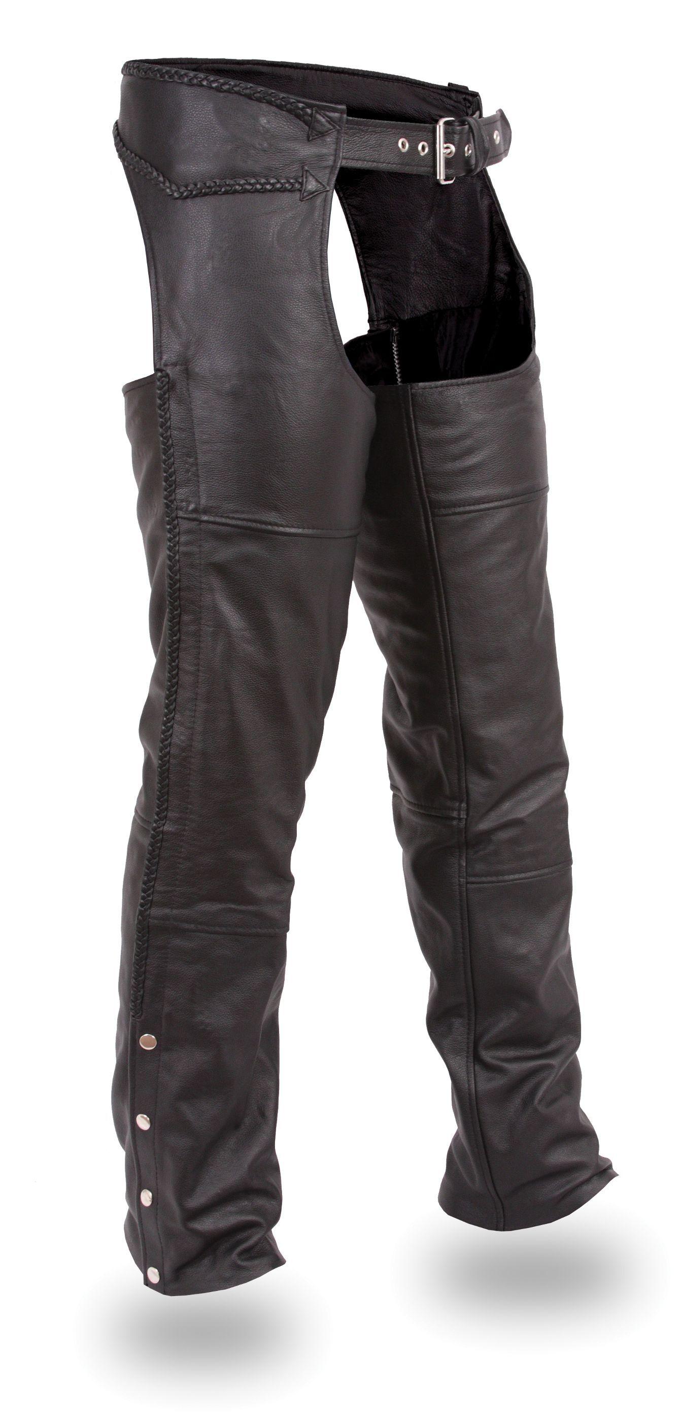 Leather Chaps - Biker Chaps - Born 2 Ride