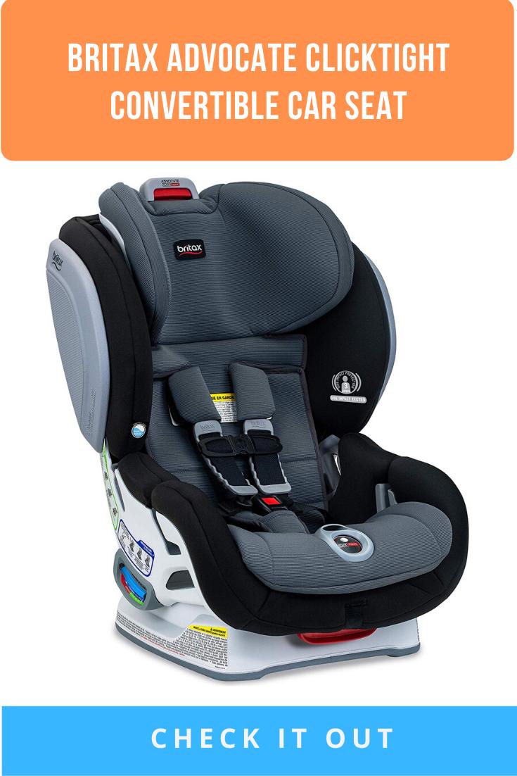 Britax Advocate ClickTight Convertible Car Seat 3 Layer
