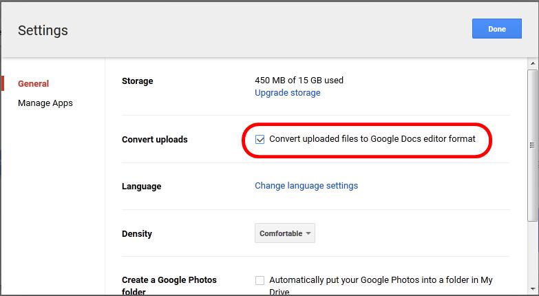 Cara Ubah Gambar Jadi Teks Di Google Drive Google Drive Teks Change Language