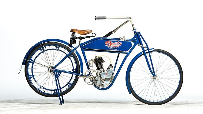 1916 Miami Powered Bicycle Presented As Lot S21 Mecum
