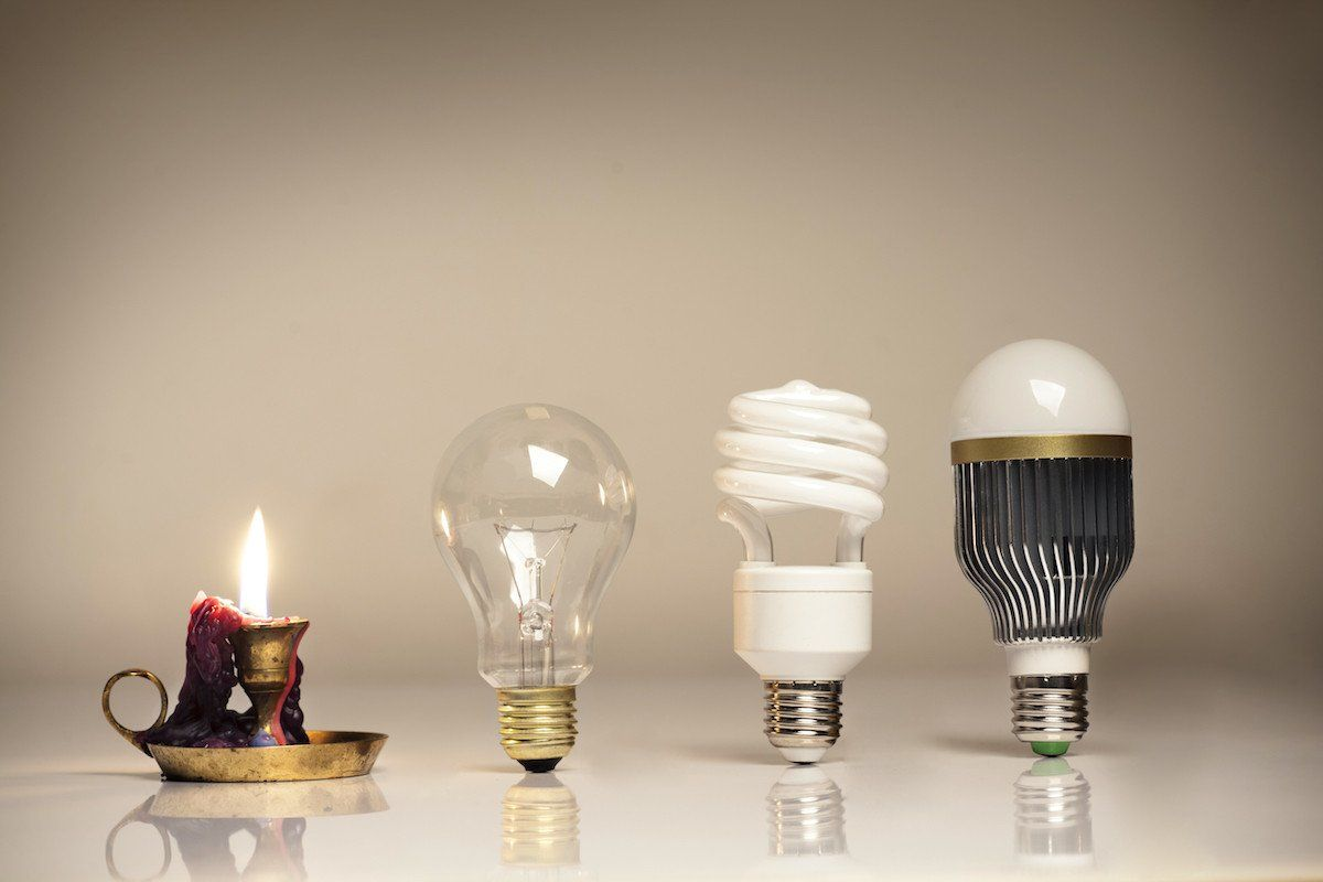LED Leuchtmittel Sind Zurzeit Definitiv Die Effizientesten Lampen, Die Es  überhaupt Gibt. Gleichzeitig Sparen