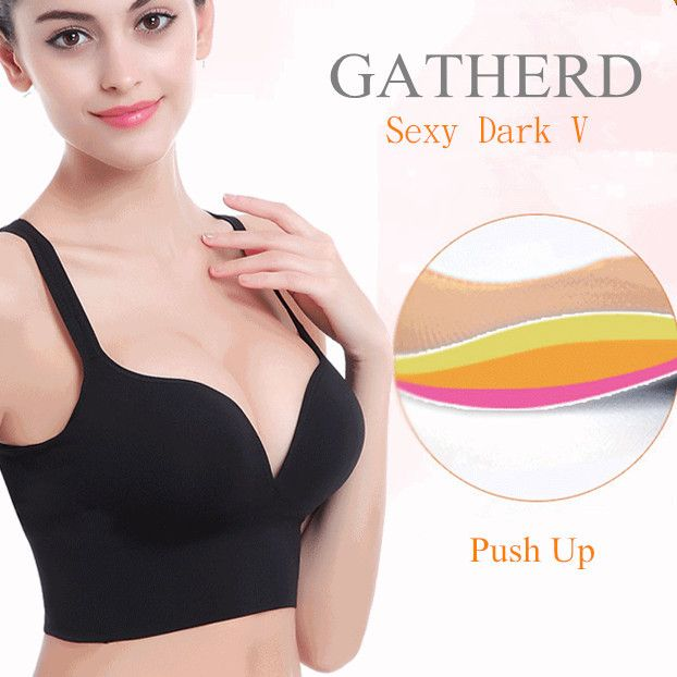 296c3c6476 Stylish Sexy Shockproof Seamfree Breathable Wireless Gather Yoga Sports Bras  - NewChic Mobile