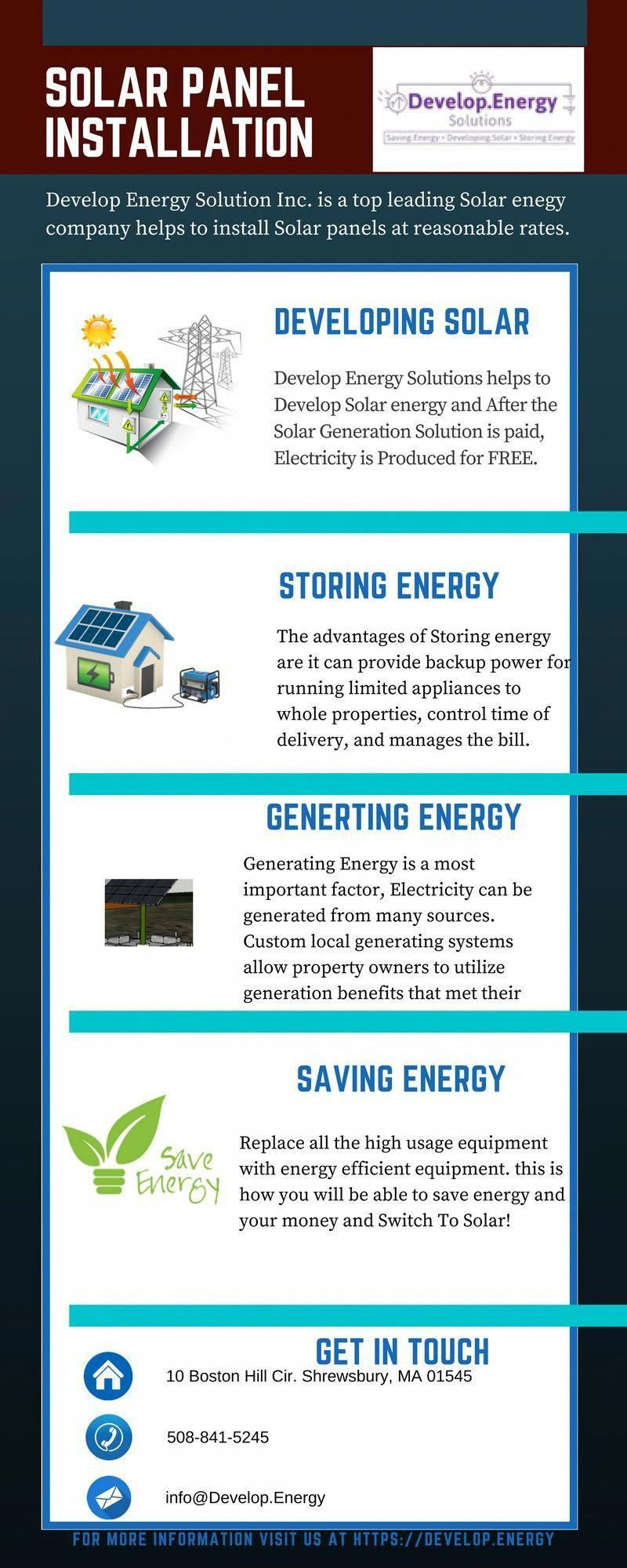 Develop.Energy Solutions, Inc. delivers the most cost