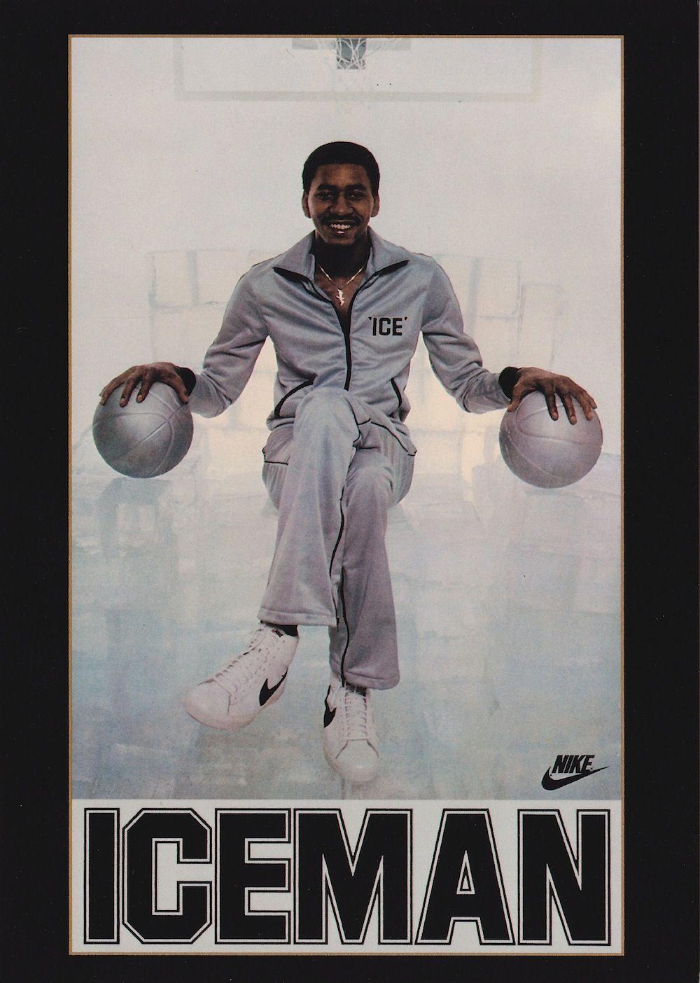 """The Iceman"" Gervin gervin, Basketball"