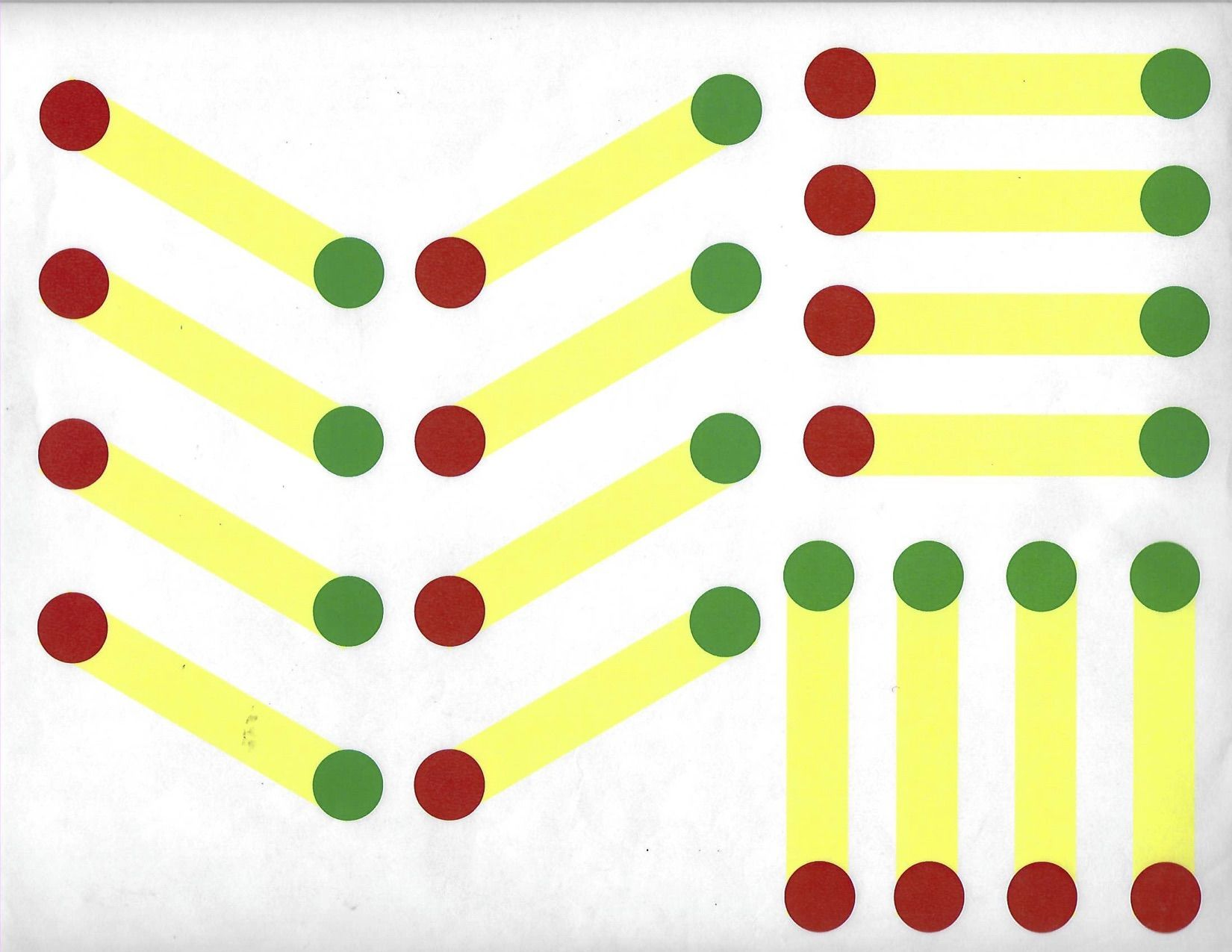 Tracing Lines Worksheet