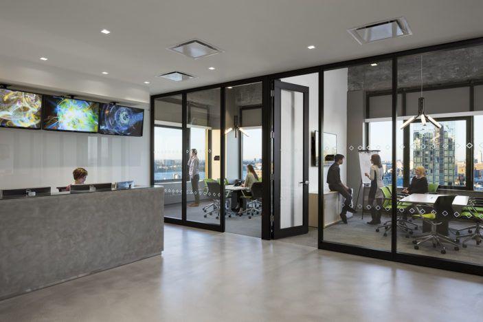 Technology / Finance Client Studios architecture, Office